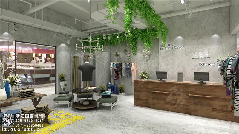 杭州服装店装修设计