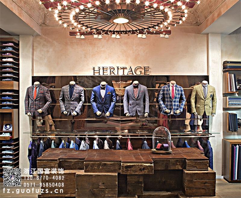 杭州加盟服装店装修设计