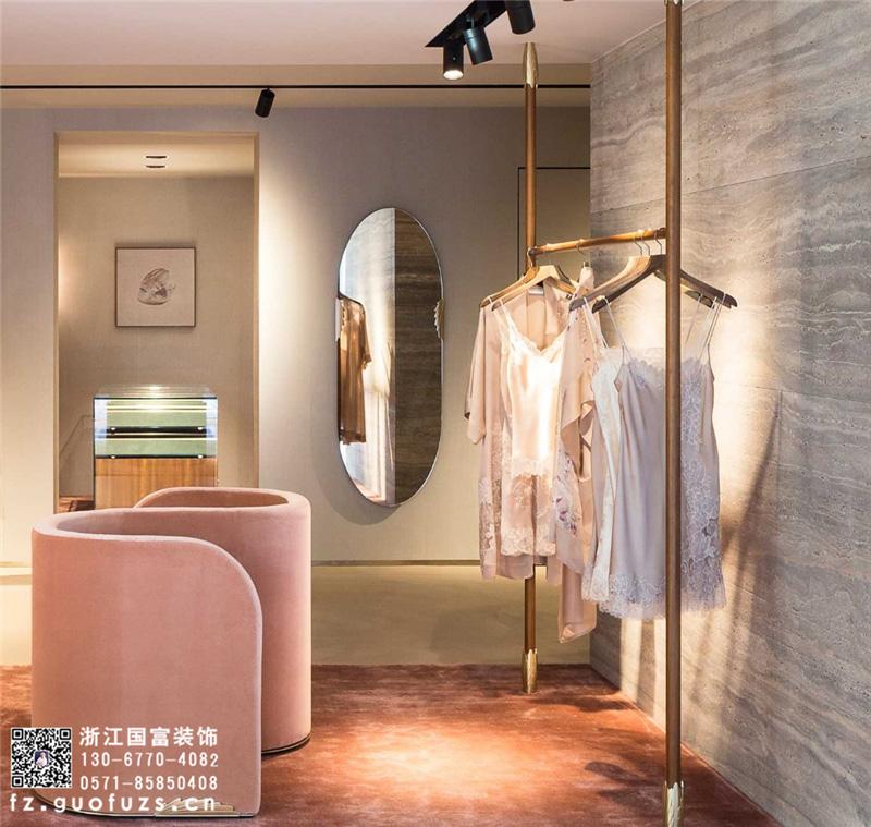 杭州服装店店面装饰